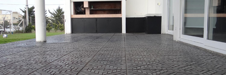 La espa ola mosaicos for Pisos para veredas